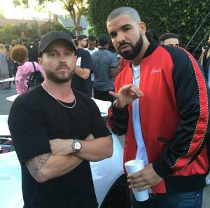 """Producer RD Whittington, seen here with Grammy Award winner Drake, has announced that there will be a nationwide casting call for this """"Summerhouse""""."""