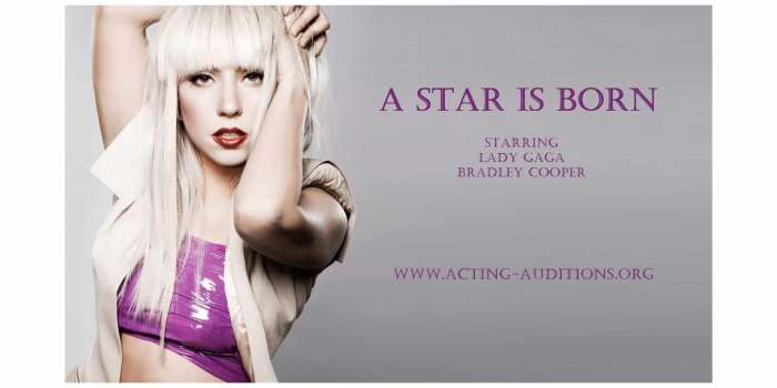 Casting underway for Warner Bros. Pictures film 'A Star Is Born' 1