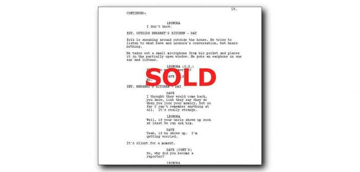 How to sell a screenplay to the studios 1