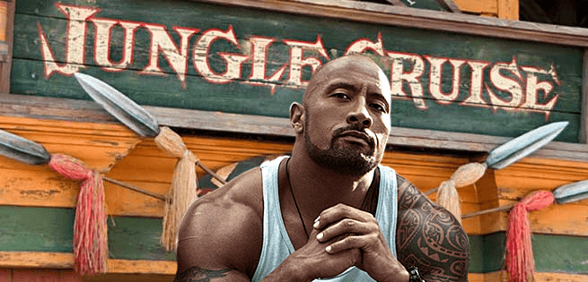 Dwayne Johnson Jungle Cruise Casting