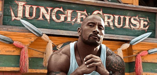 Dwayne Johnson Jungle Cruise Casting